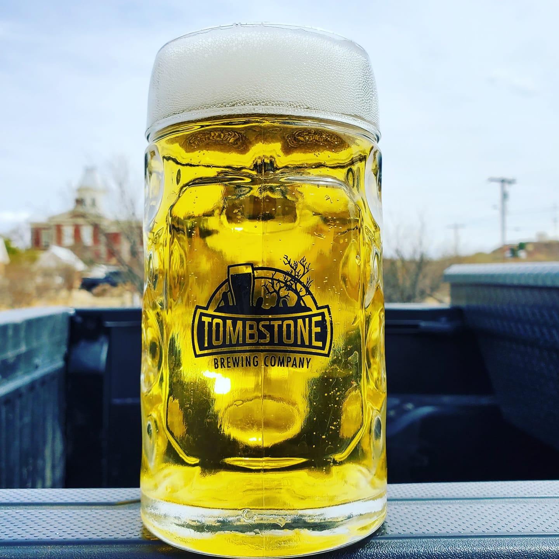tombstone brewing helles dorado lager beer in phoenix